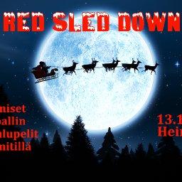 Red Sled Down –pikkujoulupelit