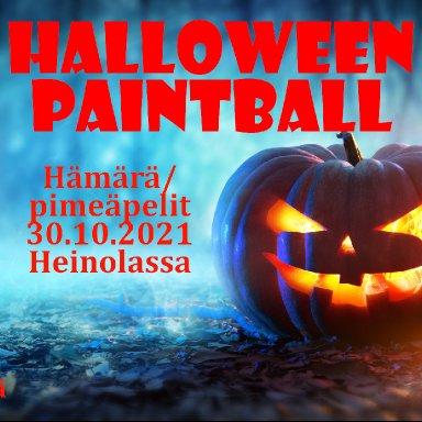 Halloween Paintball