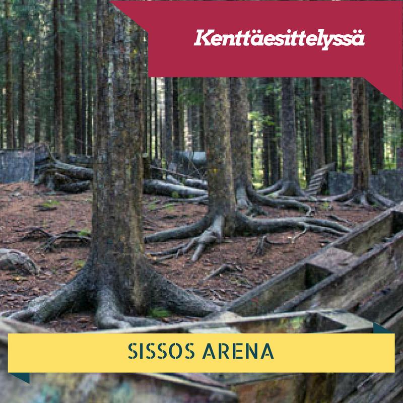 Kenttäesittelyssä Sissos Arena