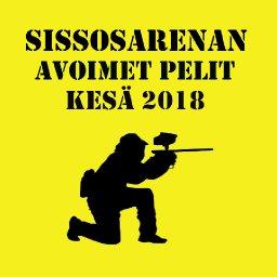 SissosArenan avoimet pelit kesällä 2018