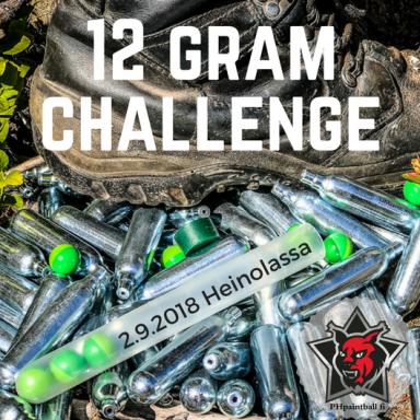 12 Gram Challenge 2018