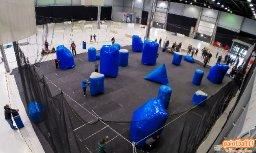 Reball-kenttä Easter Tournamentissa Suurhallilla