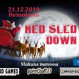 Red Sled Down magfed-pelit