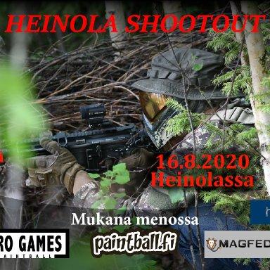 Heinola Shootout - paintballin harrastepelit