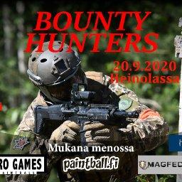 Bounty Hunters - paintballin harrastepelit Heinolassa