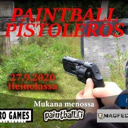 Paintball Pistoleros - paintballin pistoolipelit Heinolassa