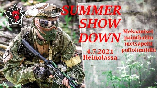 Summer Showdown - paintballin harrastepelit