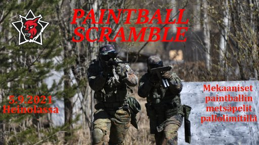 Paintball Scramble