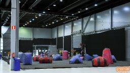 Paintballia Lahden Suurhallilla Easter Tournamentissa