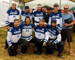 Suomen paintballin miesten maajoukkue jatkoon MM-kisoissa