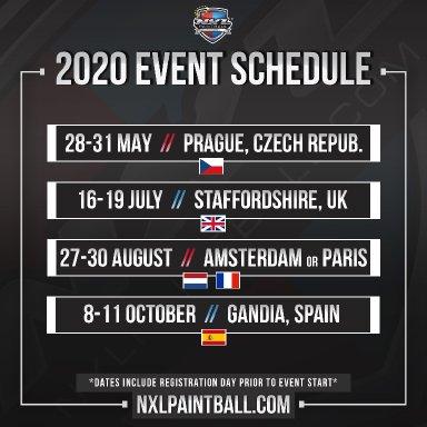 NXL:n Euroopan 2020 kalenteri julki