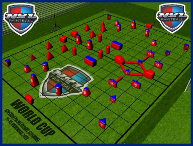 Paintballin World Cupin kenttälayout julki