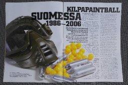 Suomen paintball-historiaa 1986-2006 - Paintti-lehti 1/2006