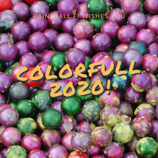 Värikästä vuotta 2020!