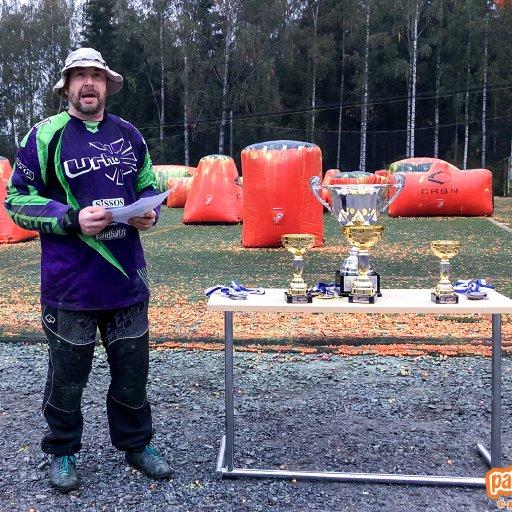 Paintballin 1. divisioonan palkintojenjako Pirkkalassa