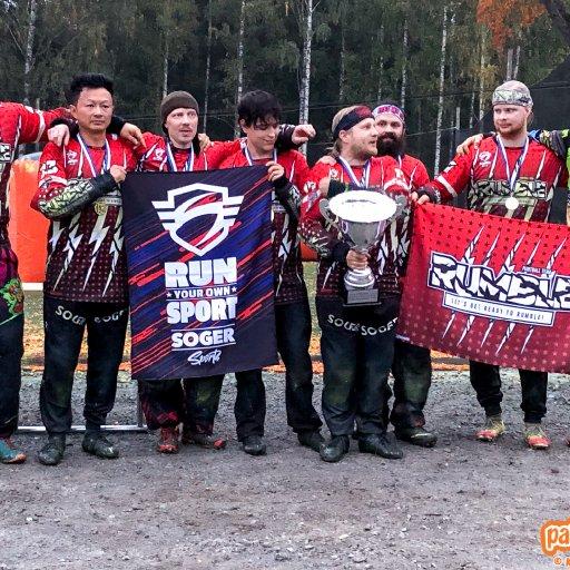 Reisjärvi Rumble paintballin ykkösdivisioonan voittoon 2021